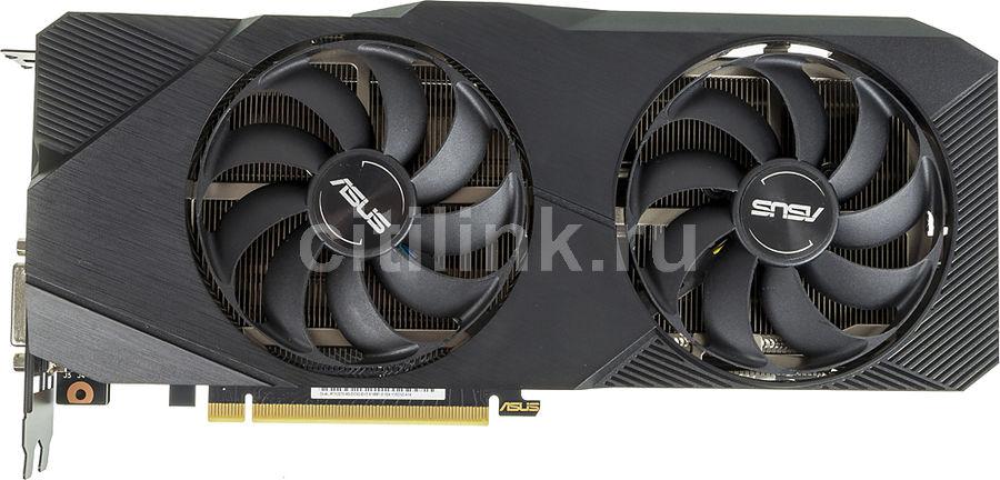 Видеокарта ASUS nVidia  GeForce RTX 2070 ,  DUAL-RTX2070-8G-EVO,  8Гб, GDDR6, Ret
