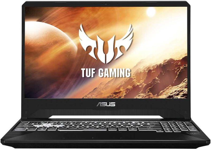 "Ноутбук ASUS TUF Gaming FX505DD-BQ060, 15.6"",  IPS, AMD  Ryzen 5  3550H 2.1ГГц, 8Гб, 1000Гб,  256Гб SSD,  nVidia GeForce  GTX 1050 - 3072 Мб, noOS, 90NR02C2-M05060,  черный"