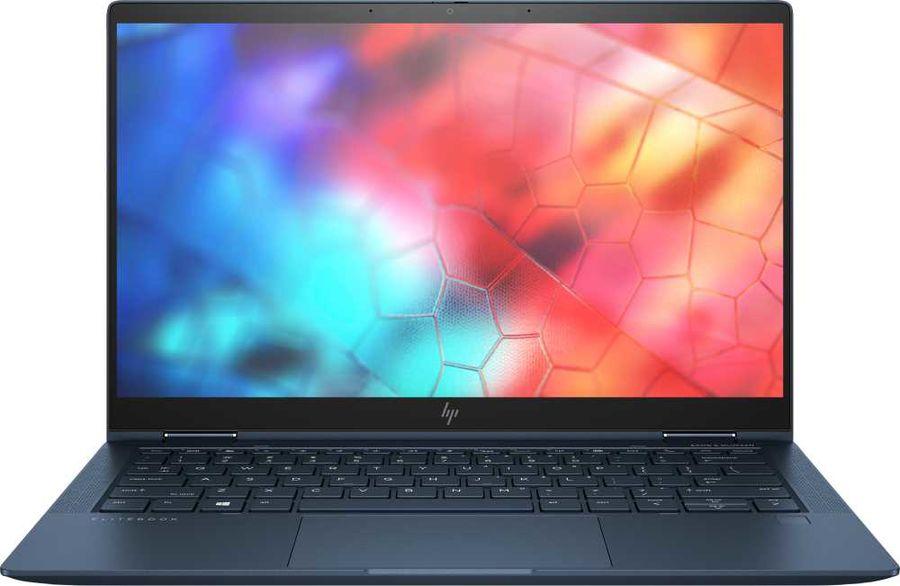 """Ноутбук-трансформер HP EliteBook Dragonfly x360, 13.3"""",  Intel  Core i5  8265U 1.6ГГц, 8Гб, 256Гб SSD,  Intel UHD Graphics  620, Windows 10, 9FT25EA,  синий"""