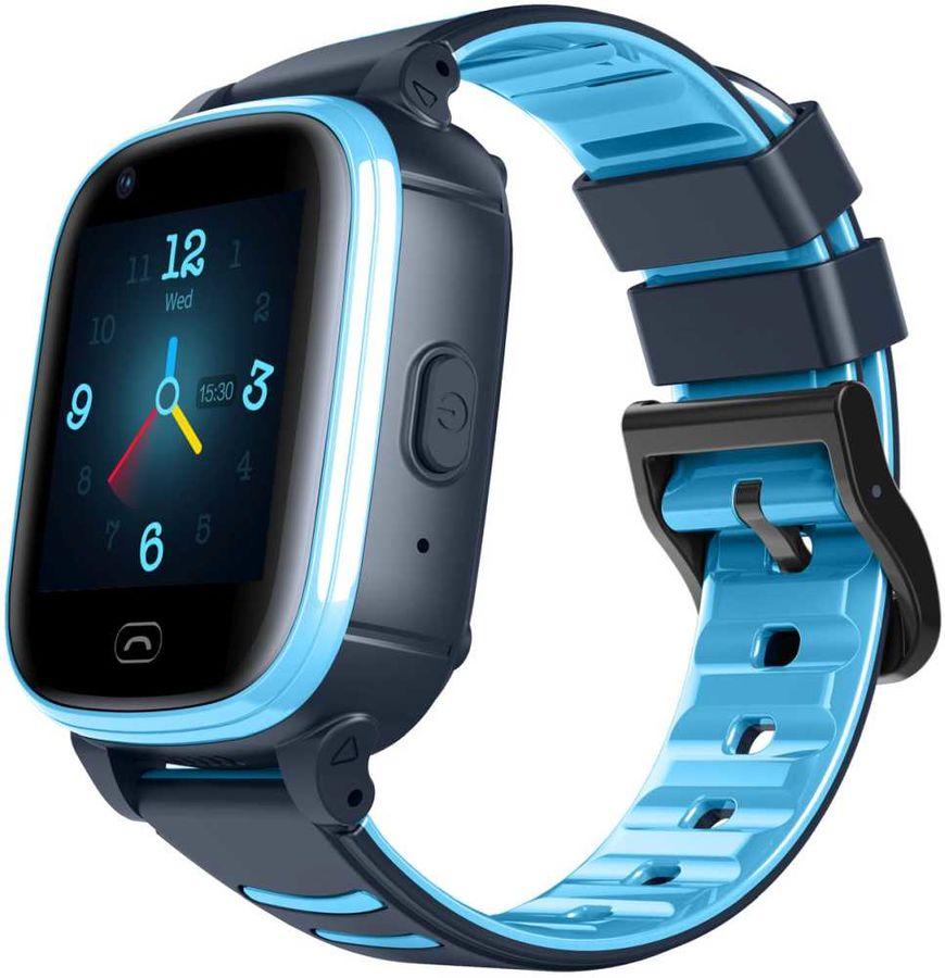 """Смарт-часы JET Kid Vision 4G,  1.44"""",  синий / серый [vision 4g blue+grey]"""