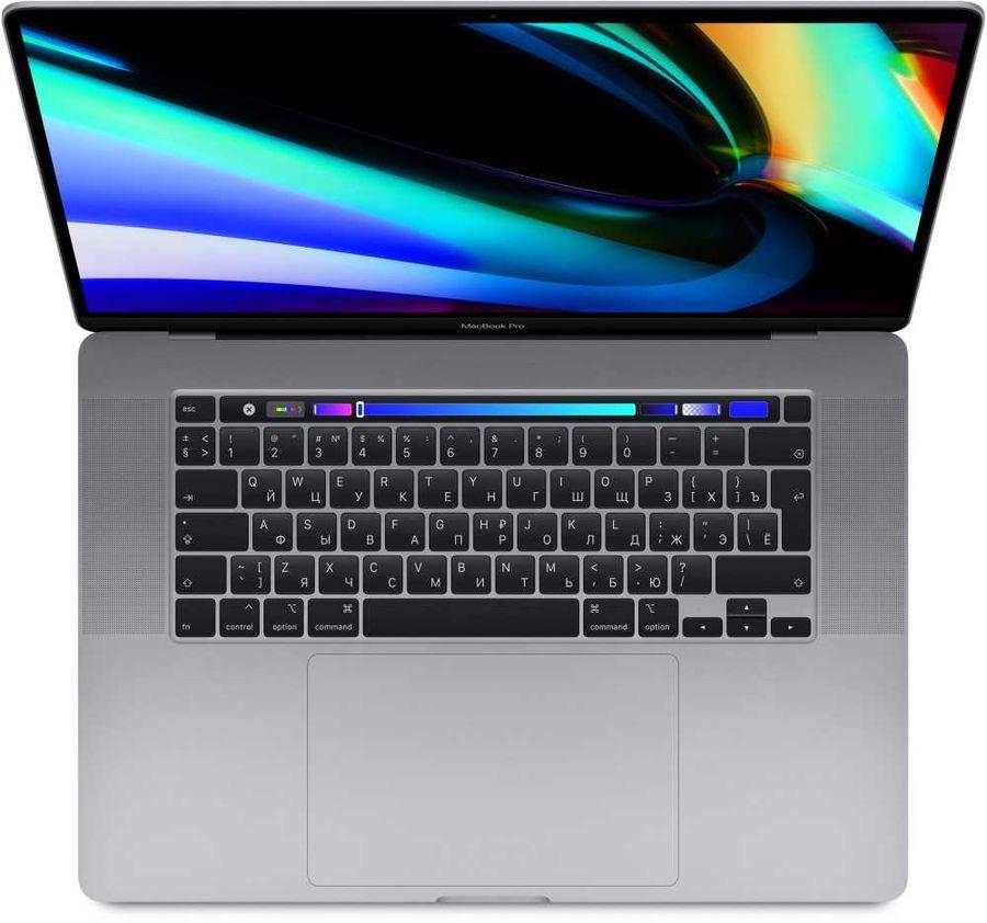 "Ноутбук APPLE MacBook Pro MVVK2RU/A, 16"",  IPS, Intel  Core i9  9880H 2.3ГГц, 16Гб, 1Тб SSD,  Radeon Pro  5500M - 4096 Мб, macOS, MVVK2RU/A,  серый"