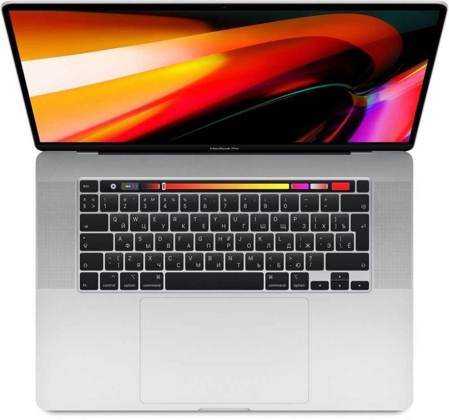 "Ноутбук APPLE MacBook Pro MVVL2RU/A, 16"",  IPS, Intel  Core i7  9750H 2.6ГГц, 16Гб, 512Гб SSD,  Radeon Pro  5300M - 4096 Мб, macOS, MVVL2RU/A,  серебристый"