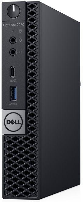Компьютер  DELL Optiplex 7070,  Intel  Core i9  9900,  DDR4 16Гб, 512Гб(SSD),  Intel UHD Graphics 630,  Windows 10 Professional,  черный [7070-6817]
