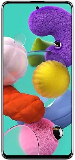Смартфон SAMSUNG Galaxy A51 64Gb,  SM-A515F,  белый