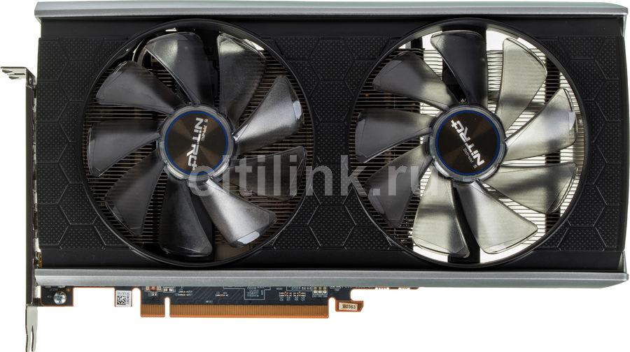 Видеокарта SAPPHIRE AMD  Radeon RX 5500XT ,  11295-05-20G NITRO+ RX 5500XT 8G SE,  8Гб, GDDR6, Ret