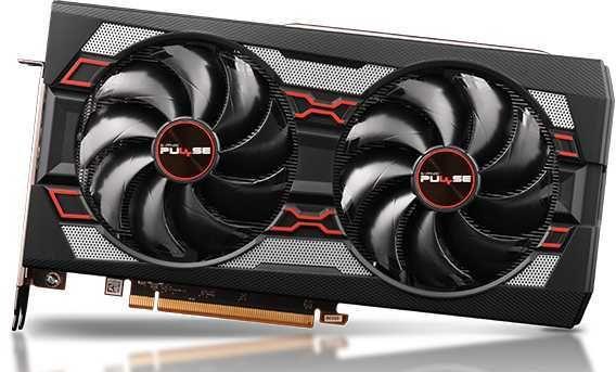 Видеокарта SAPPHIRE AMD  Radeon RX 5600XT ,  11296-01-20G  PULSE RX 5600XT 6G OC,  6Гб, GDDR6, Ret