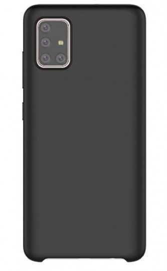 Чехол (клип-кейс) SAMSUNG araree Typoskin, для Samsung Galaxy A51, черный [gp-fpa515kdbbr]