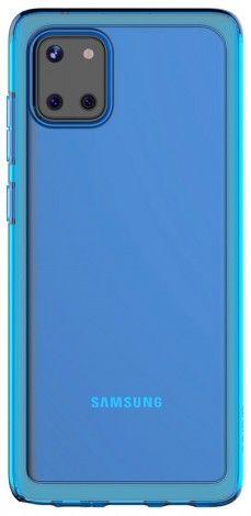 Чехол (клип-кейс) SAMSUNG araree N cover, для Samsung Galaxy Note 10 Lite, синий [gp-fpn770kdalr]