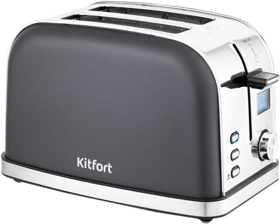 Тостер KITFORT КТ-2036-5, графит