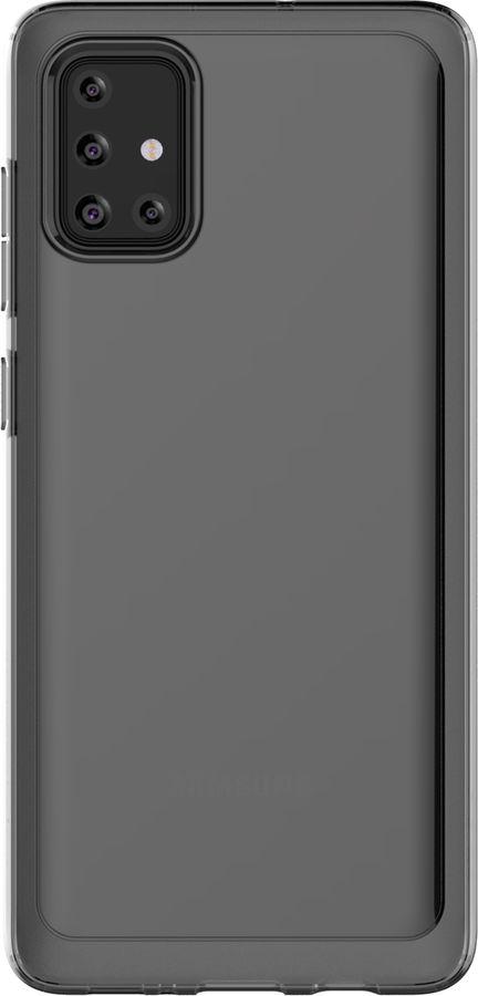 Чехол (клип-кейс) SAMSUNG araree A cover, для Samsung Galaxy A71, черный [gp-fpa715kdabr]