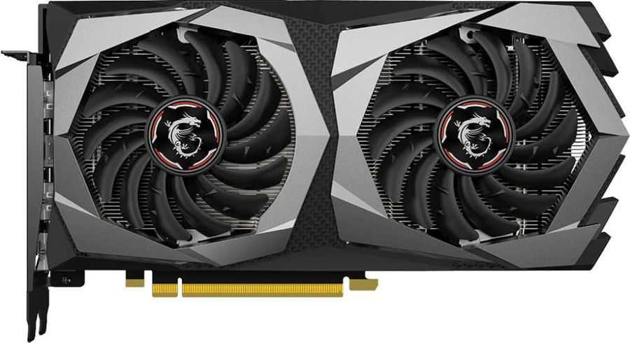 Видеокарта MSI nVidia  GeForce GTX 1650SUPER ,  GTX 1650 SUPER GAMING,  4Гб, GDDR6, Ret