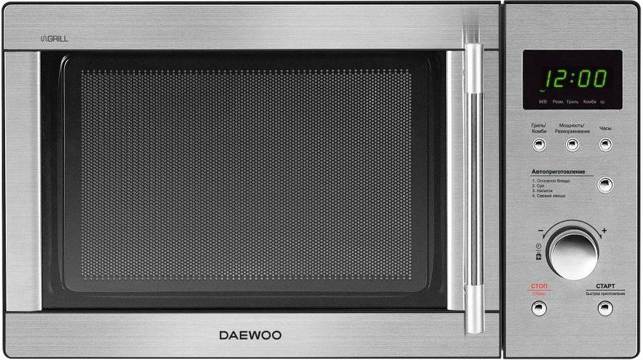 Микроволновая Печь Daewoo KQG-817RT 23л. 800Вт нержавеющая сталь