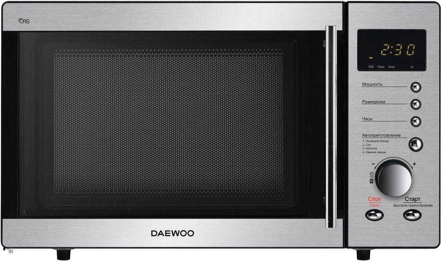 Микроволновая Печь Daewoo KOR-814RT 23л. 800Вт нержавеющая сталь