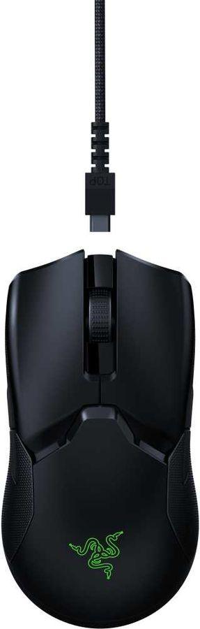 Мышь RAZER Viper Ultimate, игровая, оптическая, беспроводная, USB, черный [rz01-03050100-r3g1]