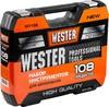 Набор инструментов WESTER WT108,  108 предметов [626582] вид 14