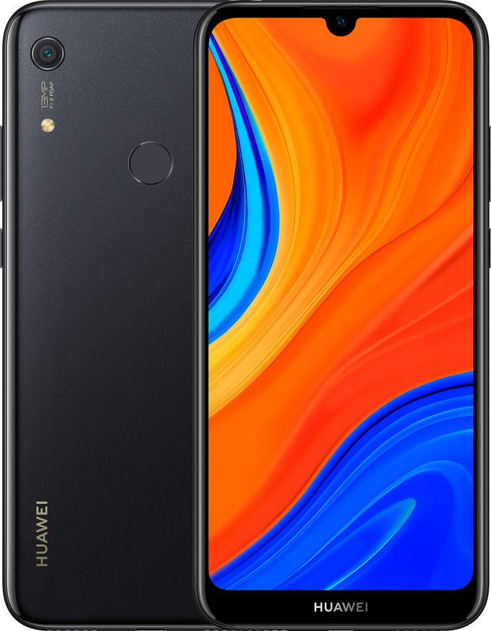 Смартфон HUAWEI Y6s 3/64Gb,  черный