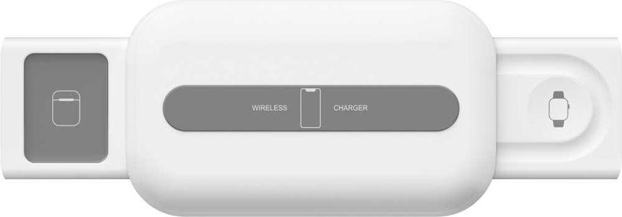 Беспроводное зарядное устройство  Lyambda,  USB type-C,  1.5A,  белый