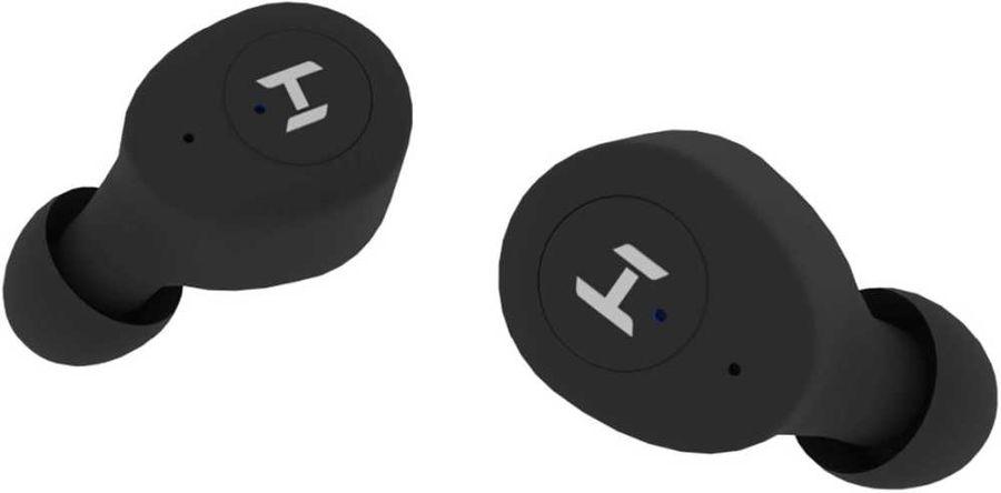 Наушники с микрофоном HARPER HB-515, Bluetooth, вкладыши, черный [h00002708]