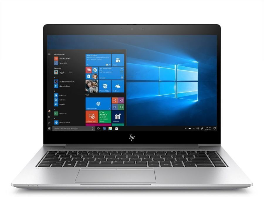 "Ноутбук HP EliteBook 840 G6, 14"",  Intel  Core i5  8265U 1.6ГГц, 8Гб, 256Гб SSD,  Intel UHD Graphics  620, Windows 10 Professional, 6XD76EA,  серебристый"