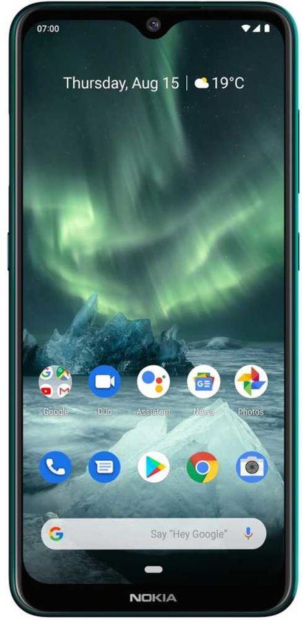 Смартфон NOKIA 7.2 64Gb,  TA-1196,  зеленый