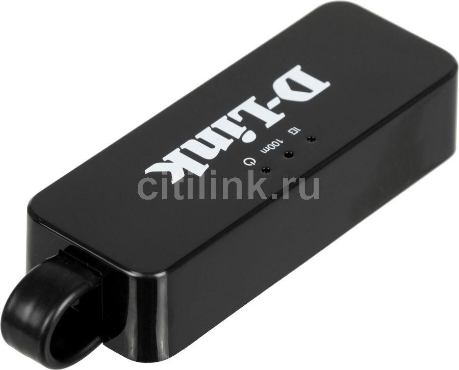 Сетевой адаптер Gigabit Ethernet D-LINK DUB-1312/B1A USB 3.0