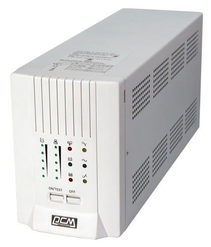 Источник бесперебойного питания POWERCOM Smart King SMK-1000A,  1000ВA [smk-1000-6g0-2440]