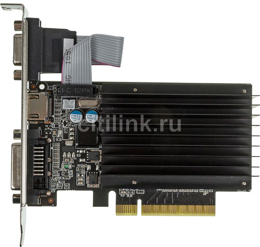 Видеокарта PALIT nVidia  GeForce GT 710 ,  PA-GT710-2GD3H,  2Гб, DDR3, Ret [neat7100hd46-2080h]