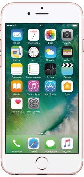 Смартфон CLEVERCEL APPLE iPhone 6s 32Gb (подержанный c гарантией),  розовое золото
