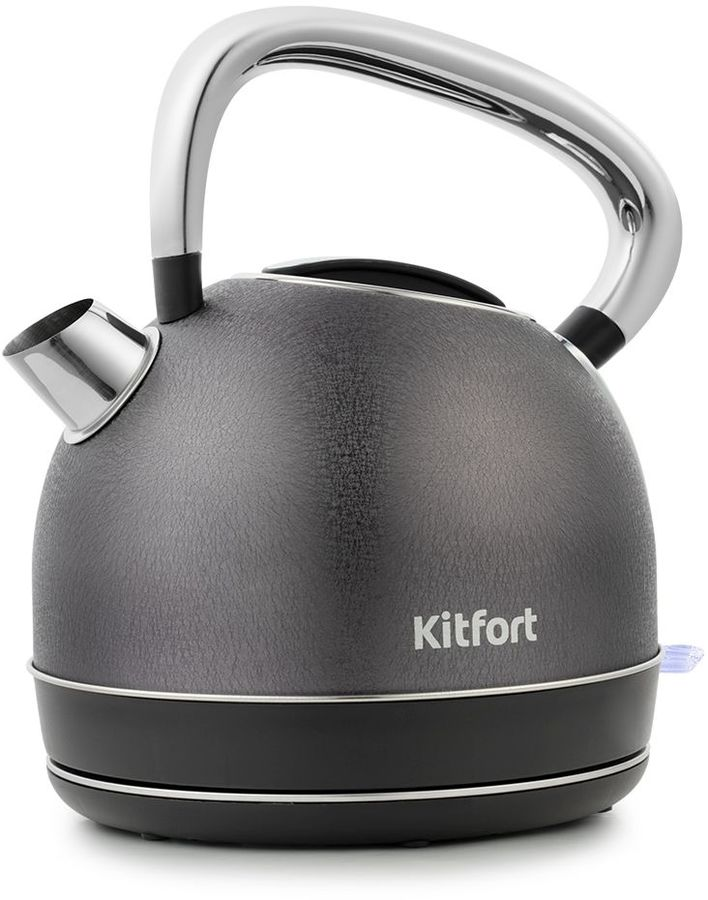 Чайник электрический KITFORT КТ-696-4, 2150Вт, черный