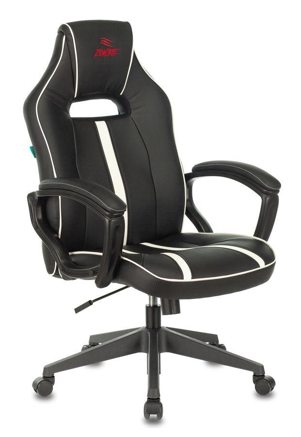 Кресло игровое БЮРОКРАТ VIKING ZOMBIE A3, белый/черный