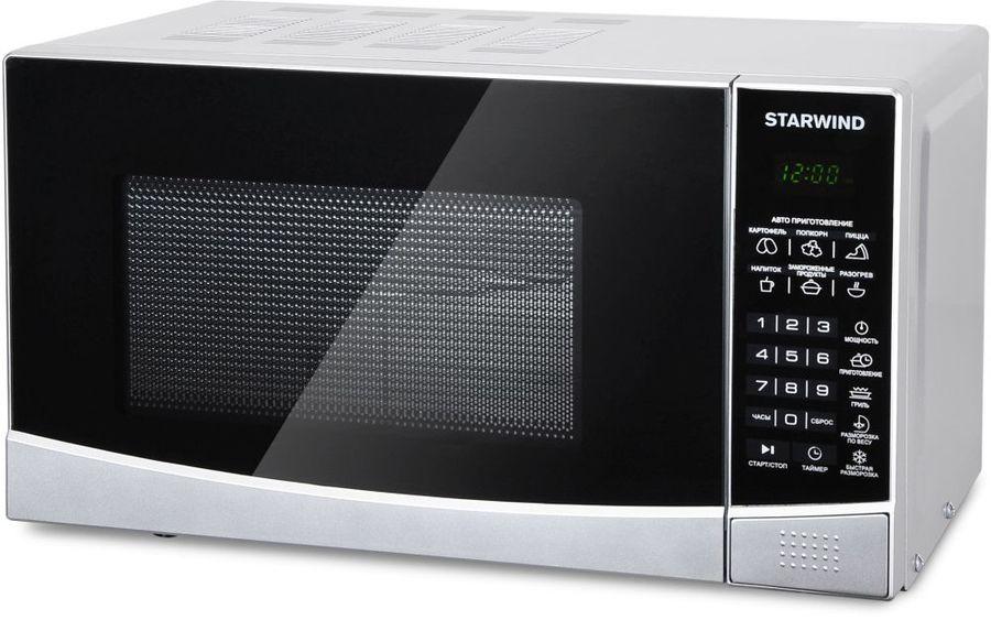 Микроволновая Печь Starwind SMW2820 20л. 700Вт серебристый/черный