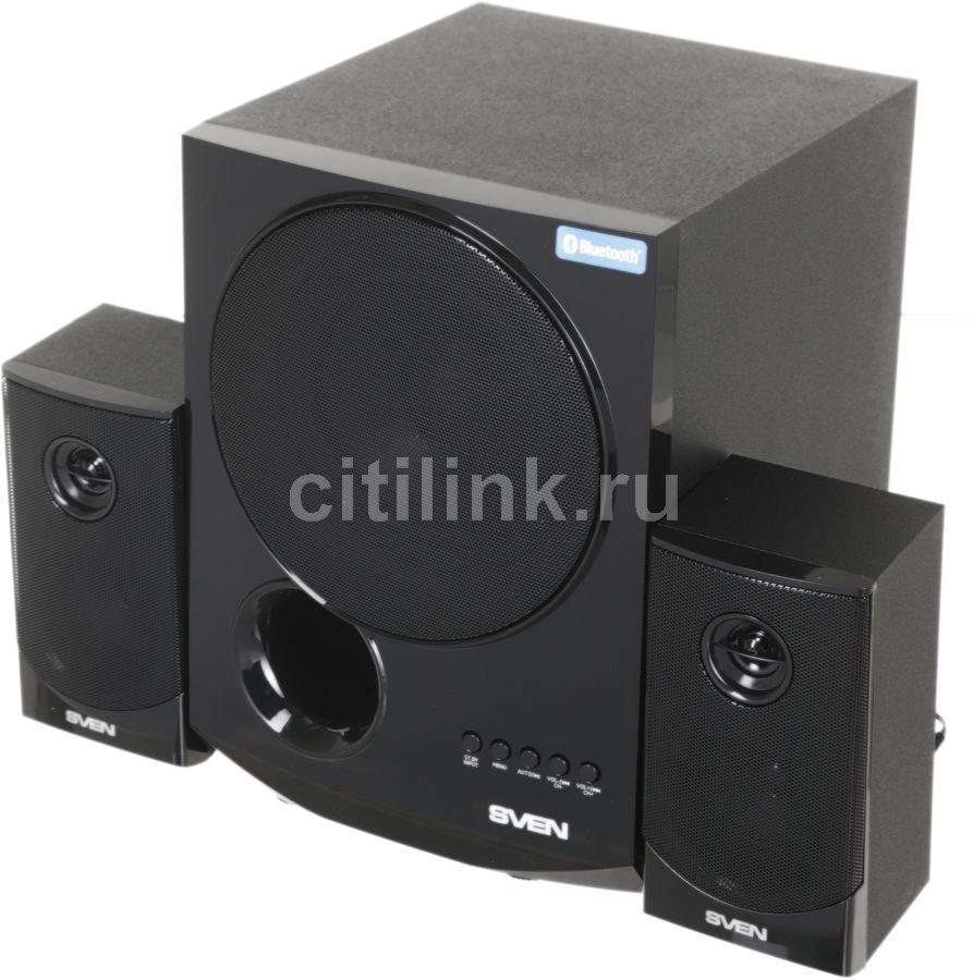 Колонки Bluetooth SVEN MS-2080,  2.1,  черный