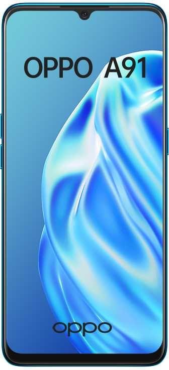 Смартфон OPPO A91 128Gb,  синий вид 1