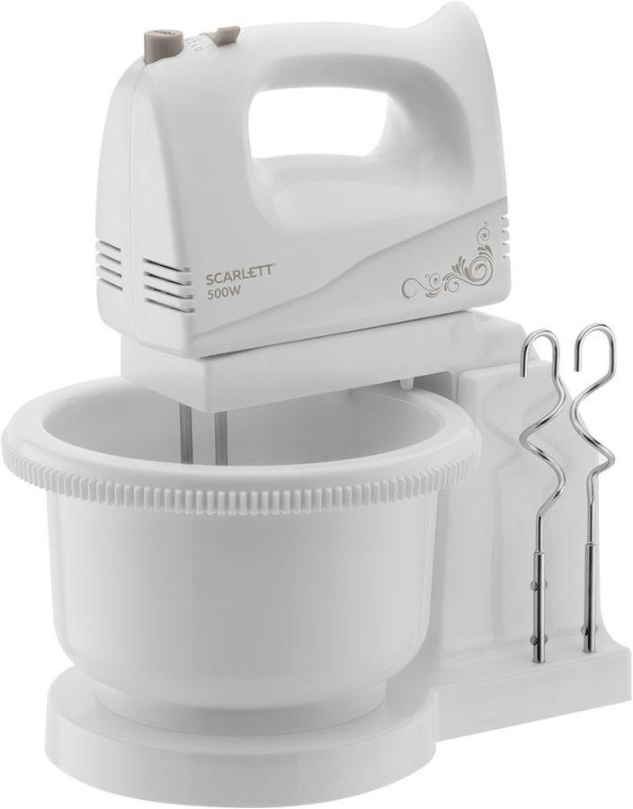 Купить Миксер SCARLETT SC-HM40B03, белый в интернет-магазине СИТИЛИНК, цена на Миксер SCARLETT SC-HM40B03, белый (1386786) - Миллерово