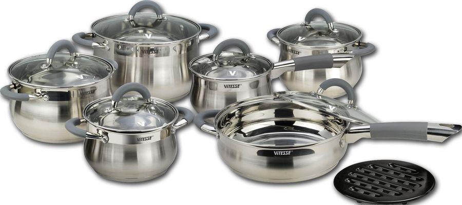 Купить Набор посуды VITESSE La Clarine VS-2040 в интернет-магазине СИТИЛИНК, цена на Набор посуды VITESSE La Clarine VS-2040 (1389194) - Омск
