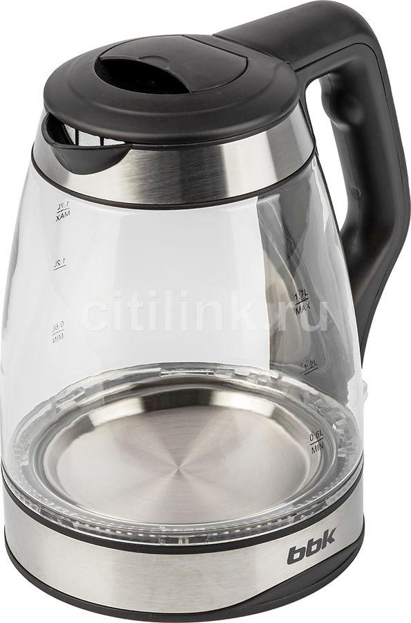 Чайник электрический BBK EK1728G, черный