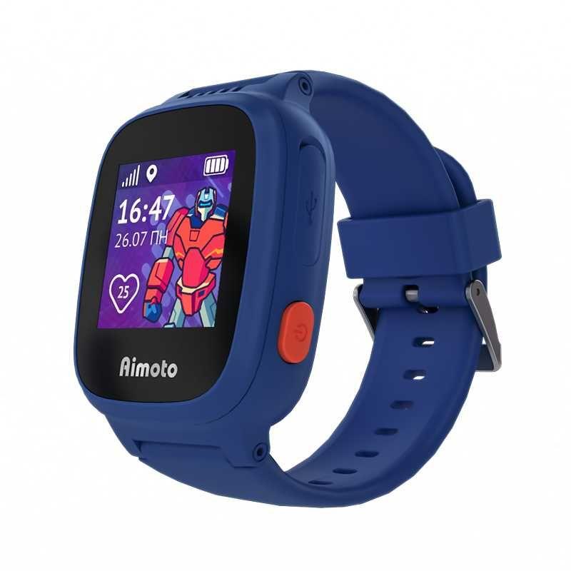 """Купить Смарт-часы КНОПКА ЖИЗНИ Aimoto Робот, 1.2"""", синий в интернет-магазине СИТИЛИНК, цена на Смарт-часы КНОПКА ЖИЗНИ Aimoto Робот, 1.2"""", синий (1402336) - Нурлат"""