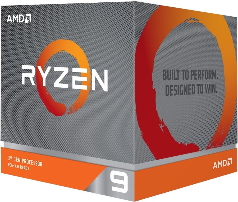 Процессор AMD Ryzen 9 3900XT,  BOX (без кулера)