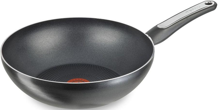 Сковорода ВОК (WOK) TEFAL B3601982, 28см, без крышки,  черный