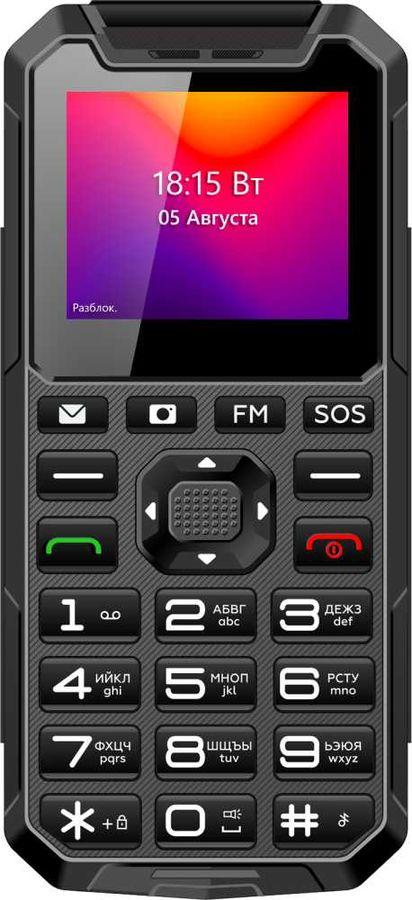 Мобильный телефон BQ Ray 2004,  серый/черный