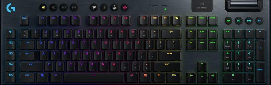Клавиатура LOGITECH G915, черный