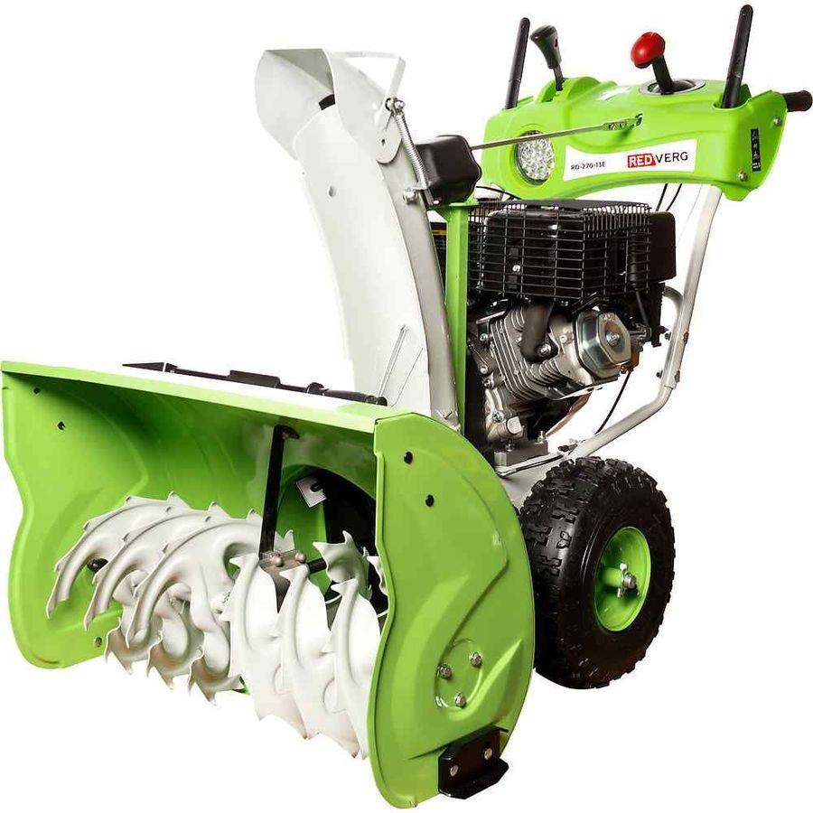 Купить Снегоуборщик REDVERG RD-270-13E, бензиновый в интернет-магазине СИТИЛИНК, цена на Снегоуборщик REDVERG RD-270-13E, бензиновый (1429232) - Липецк