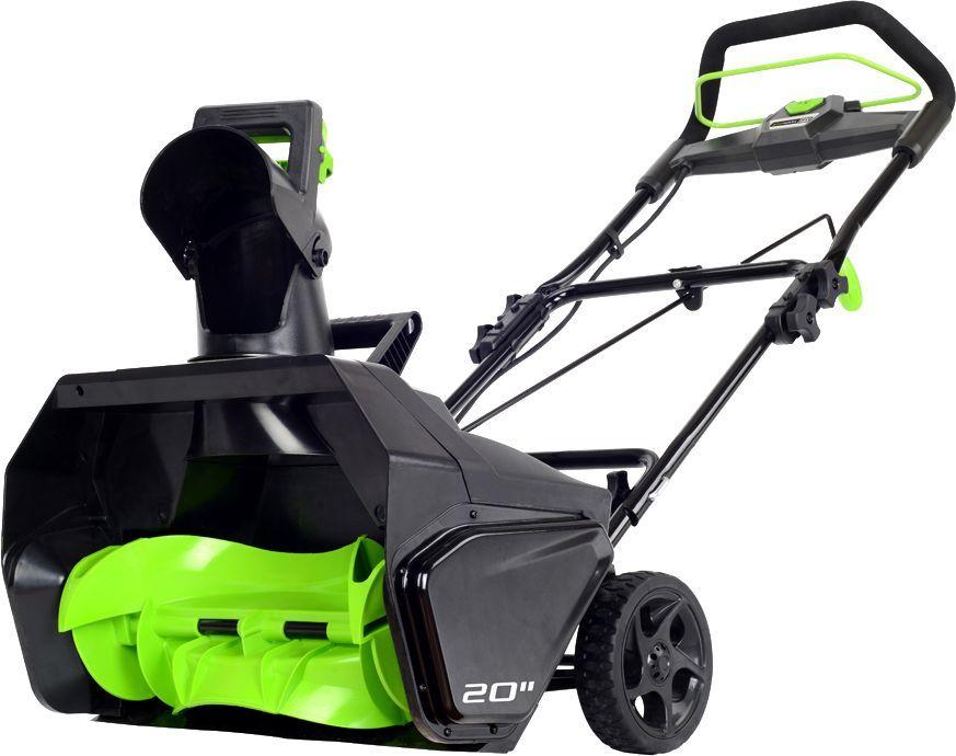 Купить Снегоуборщик GREENWORKS GD80ST, аккумуляторный в интернет-магазине СИТИЛИНК, цена на Снегоуборщик GREENWORKS GD80ST, аккумуляторный (1435170) - Салават