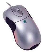 Мышь A4 WOP-35 оптическая проводная PS/2, серебристый [wop-35 ps]