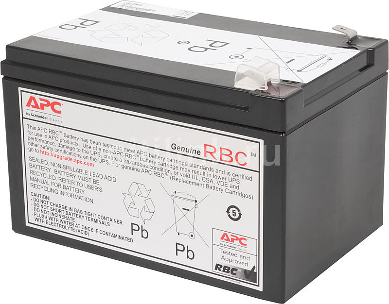 Батарея для ИБП APC RBC4 12В, 12АчБатареи для ИБП<br>для моделей: BP650S/BP650C/BP650PNP/BK650M/BK650S/SU620NET/SU650VS/BK650MC/SUVS650/BP6501PNP/BP650SC/BK650X06/BE750BB/BP650SX107/SC620/BE750BB/BP650IPNP/BP650SI/SC620I/SU620INET/SUVS650I; напряжение: 12В; емкость: 12Ач<br>
