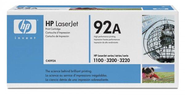 Картридж HP 92A черный [c4092a]