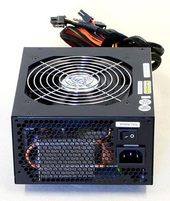 Блок питания ZALMAN ZM600-HP,  600Вт,  120мм,  черный, retail
