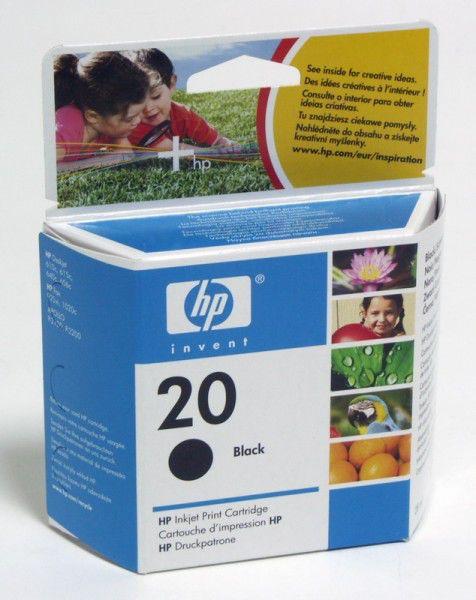 Картридж HP №20 C6614DE,  черный