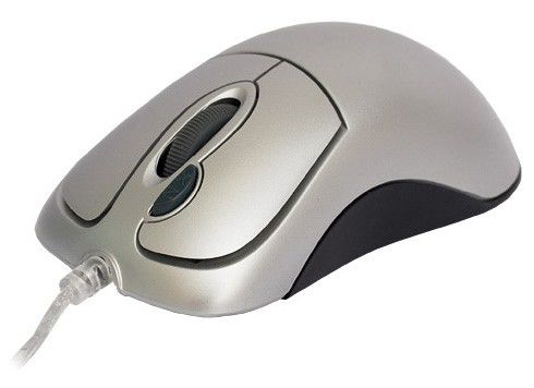 Мышь A4 MOP-35D оптическая проводная USB, PS/2, черный [mop-35d up (silver)]