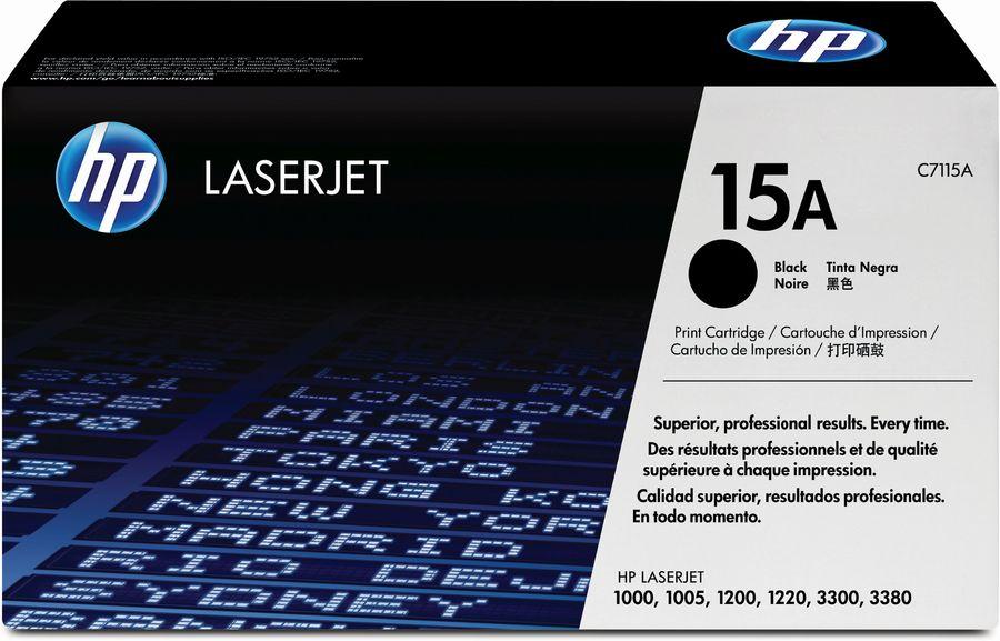 Картридж HP 15A черный [c7115a]